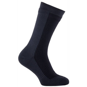 Sealskinz Hiking Mid Socks Black/Anthracite